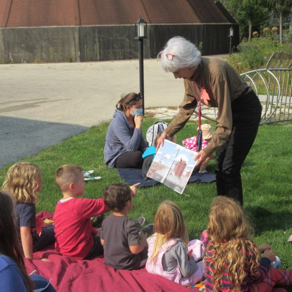 Miss Carolyn's Outdoor Story TIme